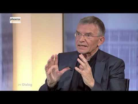 Im Dialog: Michael Krons mit Klaus Hurrelmann am 09.05.15