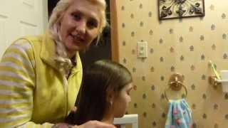 Причёска для девочки-косички- Как сделать причёску за 2 минуты!