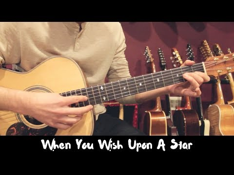 When You Wish Upon A Star Fingerstyle Guitar - Jon MacLennan