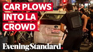 Breonna Taylor Protests: Car plows into crowd of protesters in Los Angeles