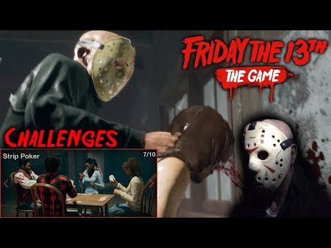 Friday the 13th the game - Gameplay 2.0 - Challenge 7 - Jason part 4