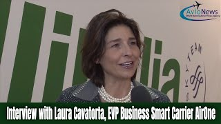 Interview with Laura Cavatorta, EVP Business Smart Carrier AirOne
