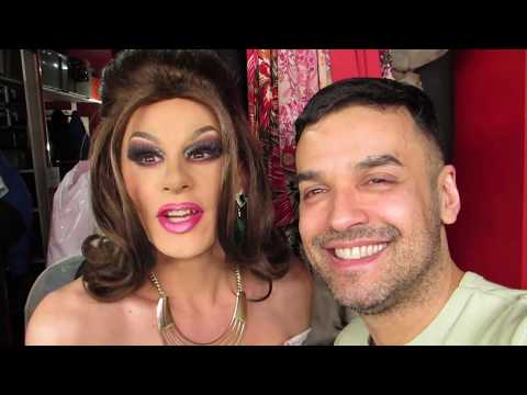 VLOG DRAG QUEEN MAKEUP AND WIG DRESSING ROOM