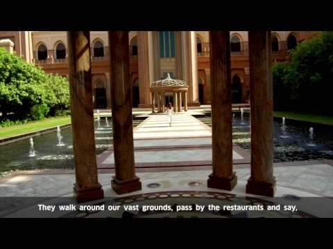 EMIRATES PALACE HOTEL, Abu Dhabi - Mobile Guest Softphone Application Video