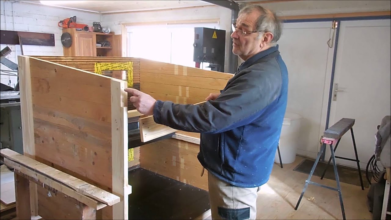 Bau unseres Hhnertraktors, Teil 1: Stall - YouTube