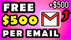 Earn $500+ Per Email For FREE (No Credit Card Needed) - Make Money Online