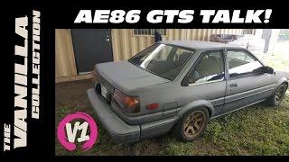 TOYOTA AE86 Kouki Coupe Talk - VLOG #2
