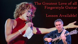 The Greatest Love of All, Whitney Houston, George Benson, fingerstyle guitar, Jake Reichbart