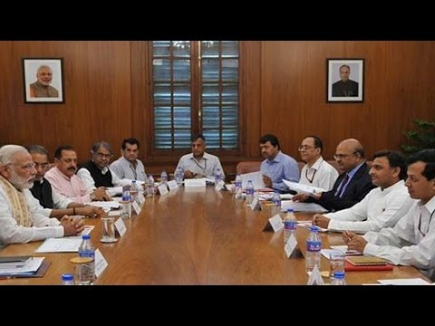 Modi meets Chief Minister's of drought hit states