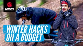 9 Winter Mountain Biking Hacks On A Budget