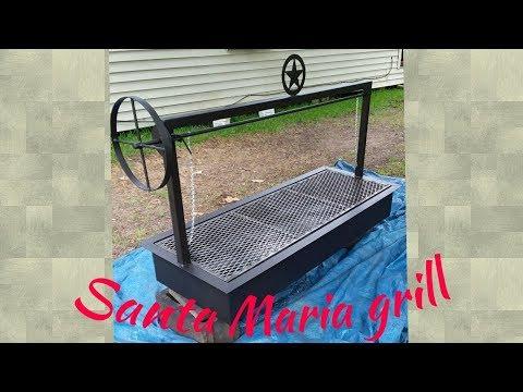 Santa Maria bbq grill build