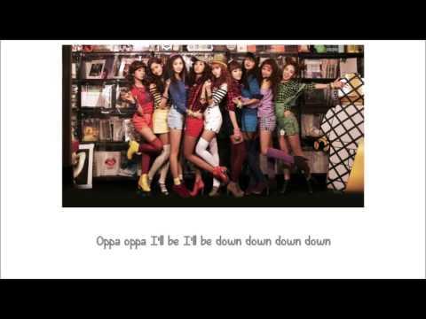 Oh! SNSD Lyrics [ENG+ROM]