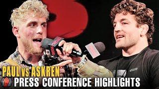 HIGHLIGHTS - JAKE PAUL VS BEN ASKREN PRESS CONFERENCE