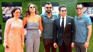 Sachin Movie GRAND Premiere With Indian Cricket Team   Virat,Dhoni,Yuvraj,Shikhar,Anushka