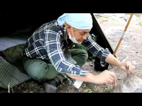 ヒロシキャンプ【ポロンTによる パップテント 撥水加工お試しキャンプ】