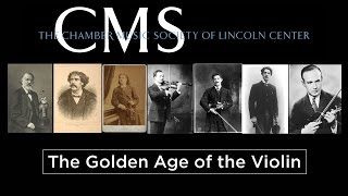 20151115 Golden Age of the Violin Lecture