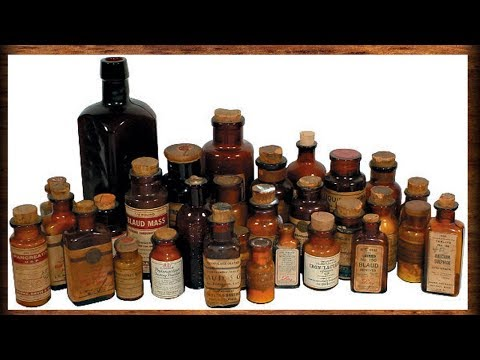 Old- Timey Medicines That Got People High