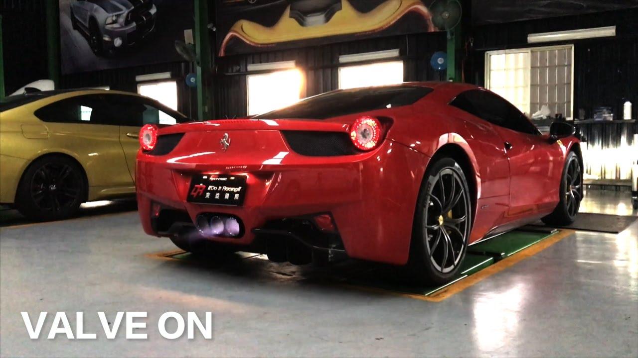 Ferrari 458 Italia X Fi Exhaust Pure F1 Sound On Road Best In The World Youtube