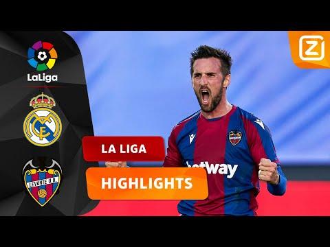 SPANNENDE WEDSTRIJD IN MADRID 😮   Real Madrid Vs Levante   La Liga 2020/21   Samenvatting