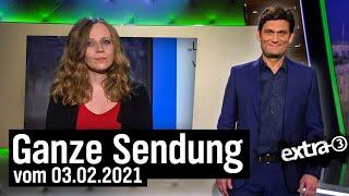 Extra 3 vom 03.02.2021 mit Christian Ehring