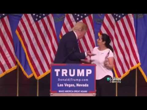 Presidential Candidate Donald Trump Rally in Las Vegas