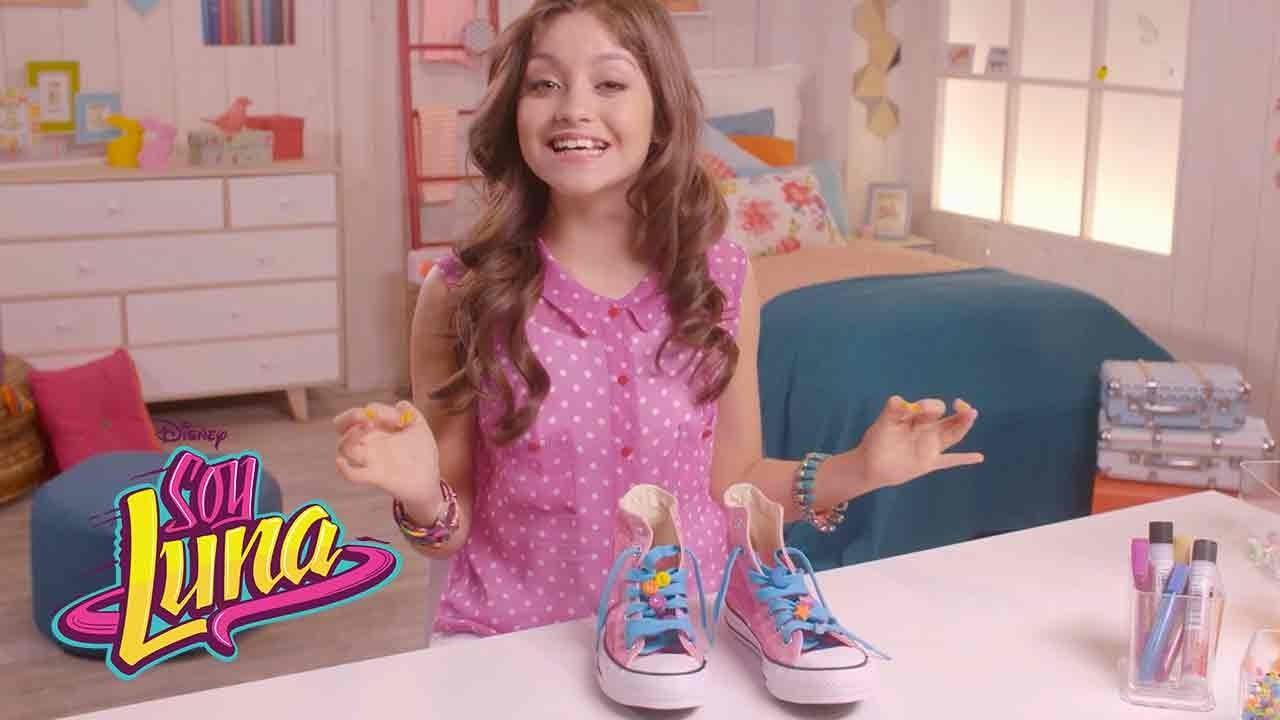 Zapatos personalizados | DIY | Soy Luna - YouTube