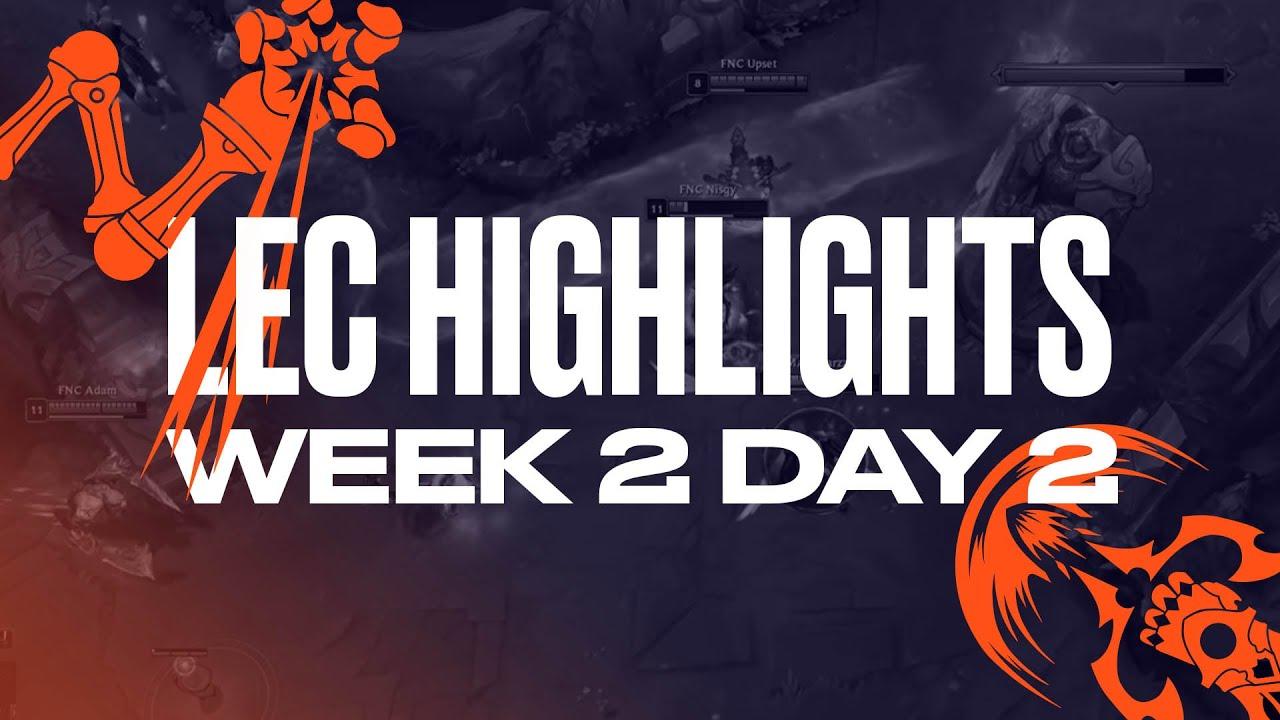 Full Day Highlights | W2D2 | 2021 LEC Summer