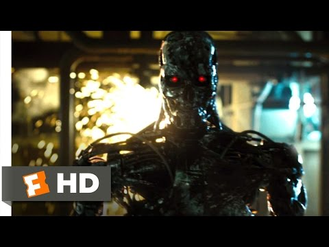 Terminator Salvation (10/10) Movie CLIP - T-800 Factory (2009) HD poster