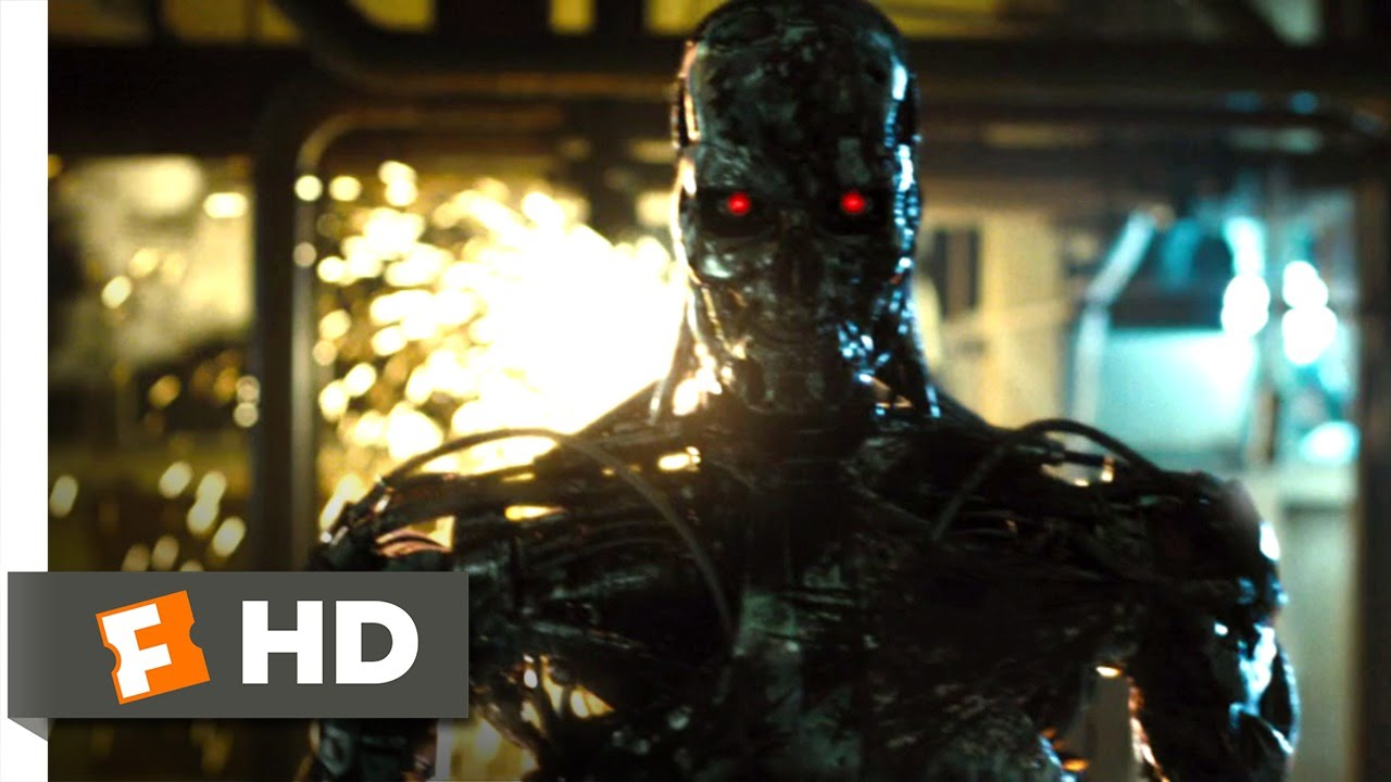 Terminator Hd Wallpaper Terminator Salvation 10 10 Movie Clip T 800 Factory