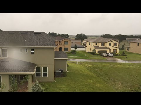 Live stream of hurricane Irma in central Florida on 9/10