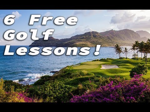 SPECIAL OFFER - 6 FREE Golf Lessons and Membership to RotarySwing University!