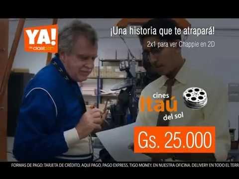 HOY en YA!: 2x1 para ver Chappie en 2D. -50% OFF.