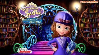 La Princesita Sofia en español 濾 La Bibliotheca Secreta   Disney Junior Juego para niños