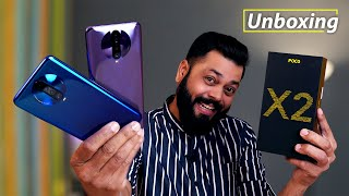 POCO X2 Unboxing & First Impressions ⚡⚡⚡ POCO IS BACK BUT…