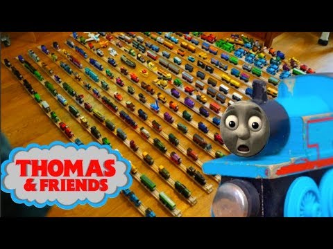 The Biggest Thomas Wooden Railway Collection Thomas Friends Train Toys For Yummy Kids 托马斯小火车