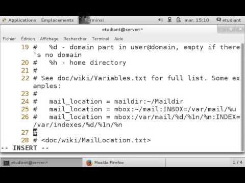 Centos 7: Configuration de la messagerie avec Postfix et Squirrelmail