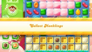 Candy Crush Jelly Saga Level 878 (3 star, No boosters)
