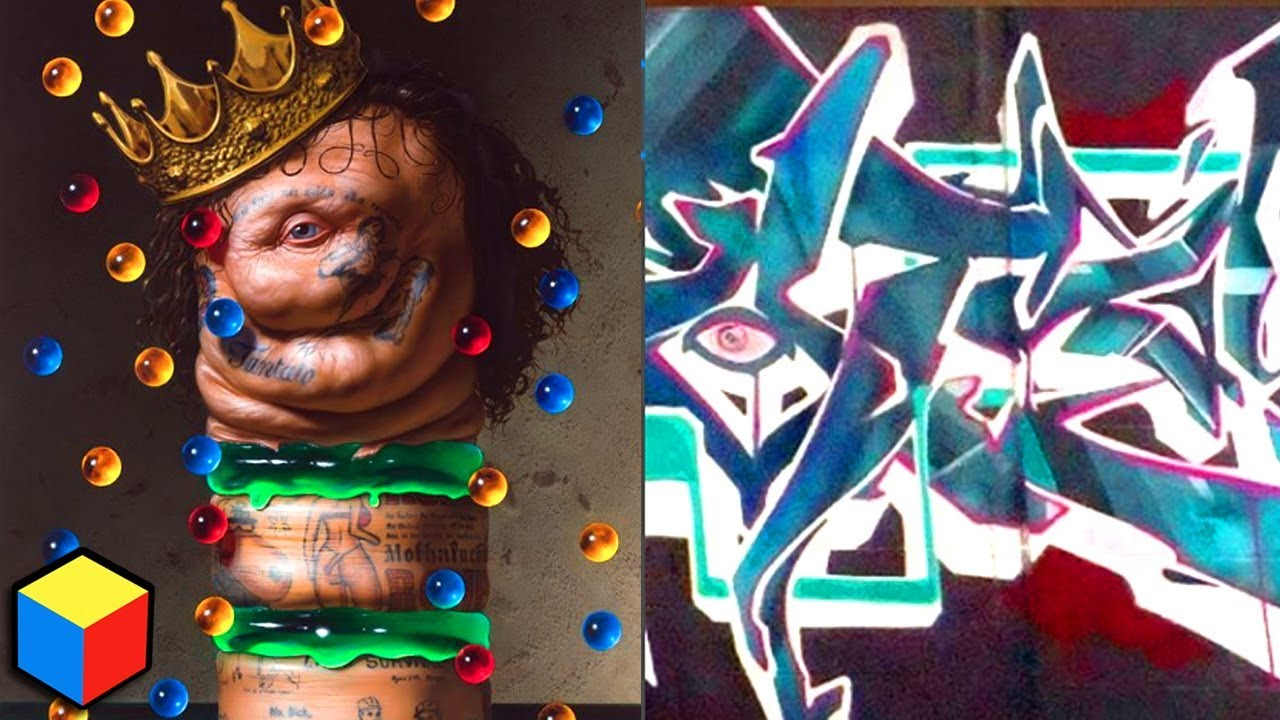 Art graffiti critiques how