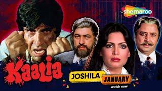 Kaalia [1981] Amitabh Bachchan   Asha Parekh   Parveen Babi   Blockbuster Hindi Movie