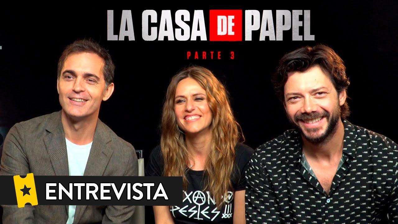 LA CASA DE PAPEL (Temporada 3) | Entrevista a Álvaro Morte, Itziar Ituño y Pedro Alonso