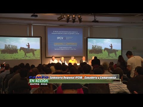 Jorge Torelli - Vice Presidente IPCVA - Seminario IPCVA en Paraná