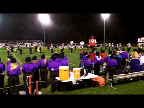 Cedarville High School Marching Band 2011 Greenday Show