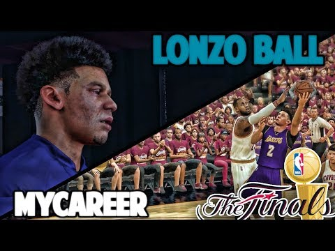 THE NBA FINALS! DOWN TO THE WIRE! - NBA 2K17 LONZO BALL MyCareer