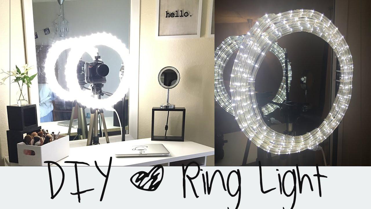 DIY Ring Light Tutorial    Diva Light    Do it yourself ...