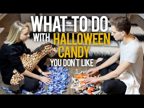 WHAT TO DO WITH HALLOWEEN CANDY YOU DON'T LIKE