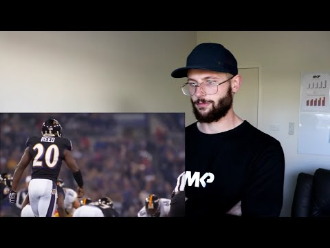 Rugby Player Reacts to ED REED The Ball Hawk NFL Career Highlights!