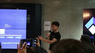 DigixDAO Launch Night | Live Demo by Core Developer | Digix