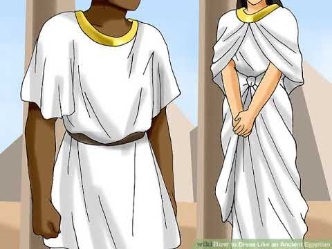 How To Dress Like An Ancient Egyptian