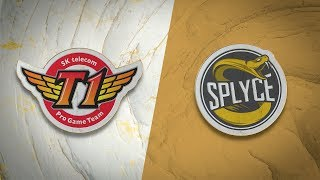 SKT vs SPY   Quarterfinal Game 1   World Championship   SK Telecom T1 vs Splyce (2019)