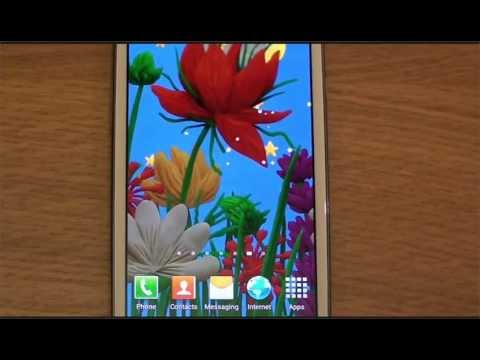 Plasticine spring flowers Live wallpaper for Android